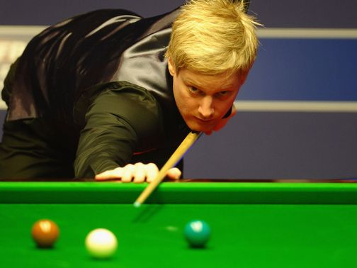 Neil Robertson: Faces Judd Trump in the last four