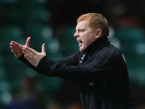 Lennon: Watched his side lose to Inverness