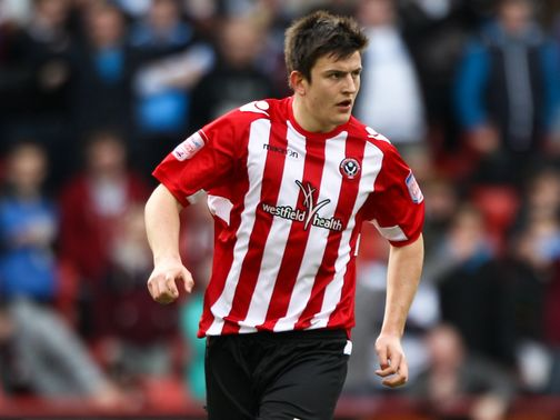 Harry Maguire: Scored for Sheffield United