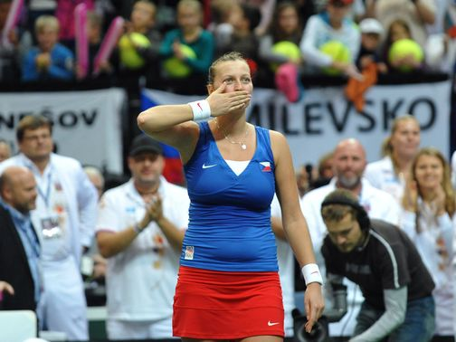 Petra Kvitova: First up for the Czechs