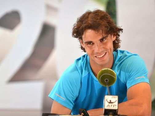 Nadal: Returning to action after his injury layoff
