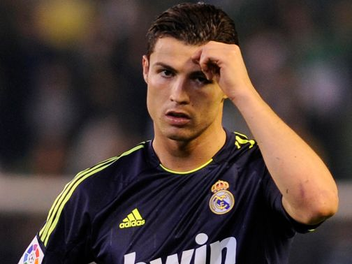 Ronaldo: Played down reports linking him with United