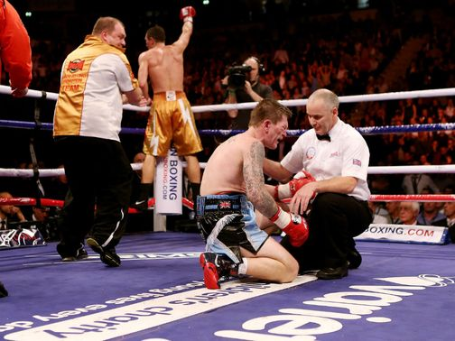 Ricky Hatton failed to win on his ring return.