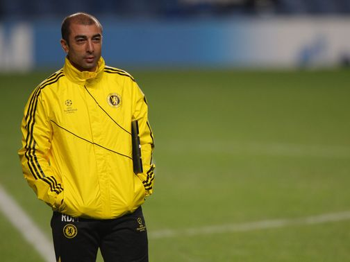 Di Matteo: Concentrating on Juventus tie