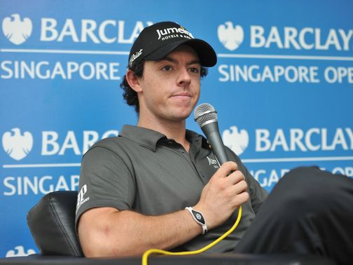 McIlroy: Skipped last week's HSBC Champions