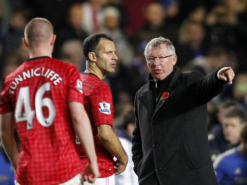 Giggs: Admits the defeat was tough to take