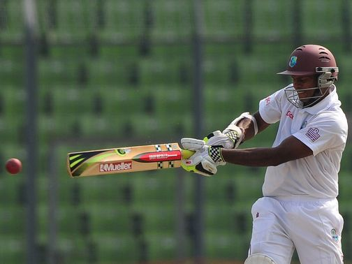 Shivnarine Chanderpaul: Hit an unbeaten 203