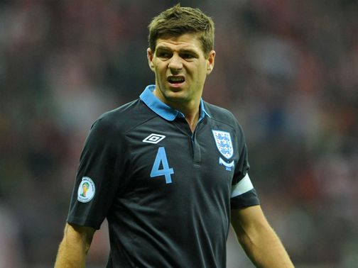Gerrard: Set for England landmark appearance
