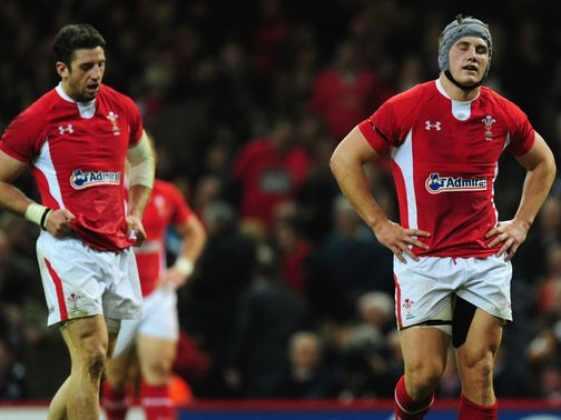 Frustration for Wales as they lose to New Zealand.