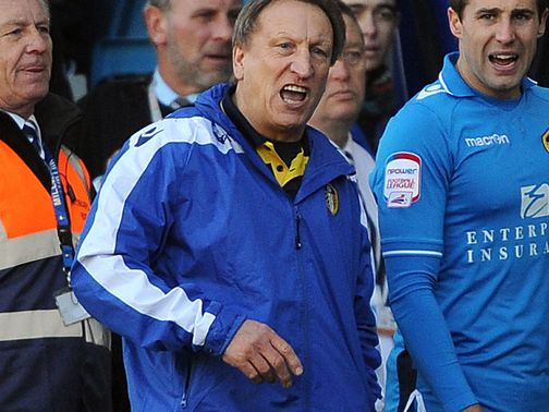 Neil Warnock: Charged with improper conduct
