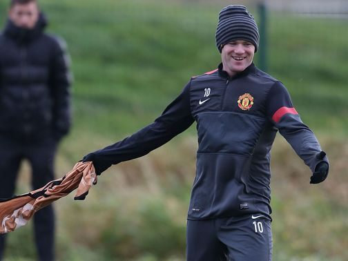 Wayne Rooney: Passed fit after a bout on tonsillitis