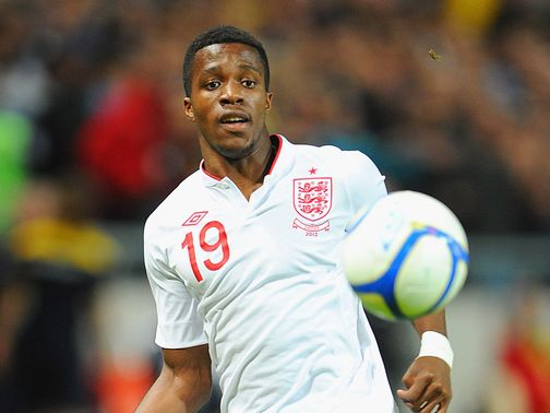 Wilfried Zaha: Made his England debut against Sweden