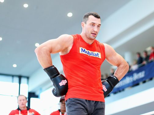 Wladimir Klitschko: Will fight Pianeta