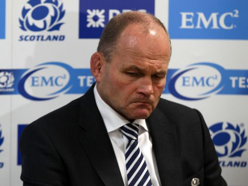 Andy Robinson: Quit post with Scotland