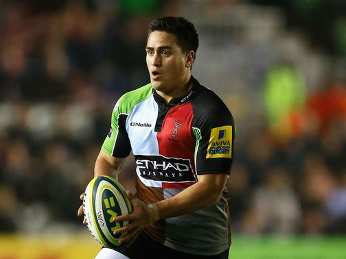 Ben Botica: Starts for Harlequins against London Welsh
