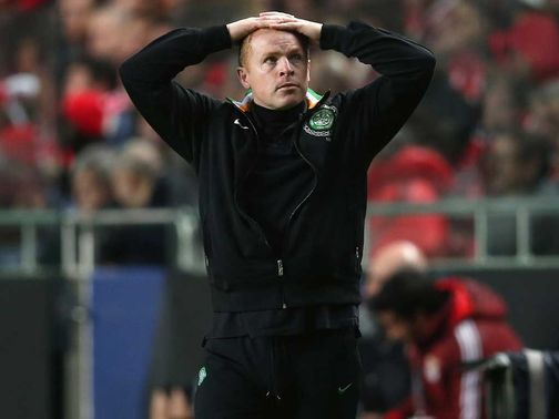 Neil Lennon: Wants his side to improve