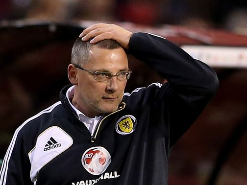 Craig Levein: Dismissed earlier this month