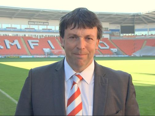 Karl Oyston: Delighted to have Paul Ince as manager