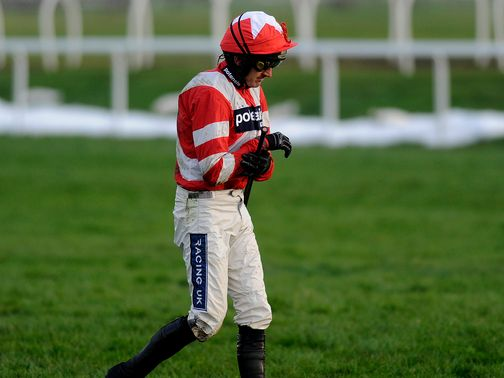 Ruby Walsh: Sidelined by a fall from Cedre Bleu