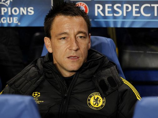 John Terry: Not immune to rotation policy