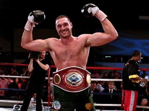 Tyson Fury: Hopes to step up for a world title in 2013