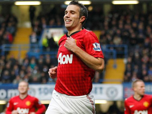Van Persie: Has bolstered Man Utd's strikeforce