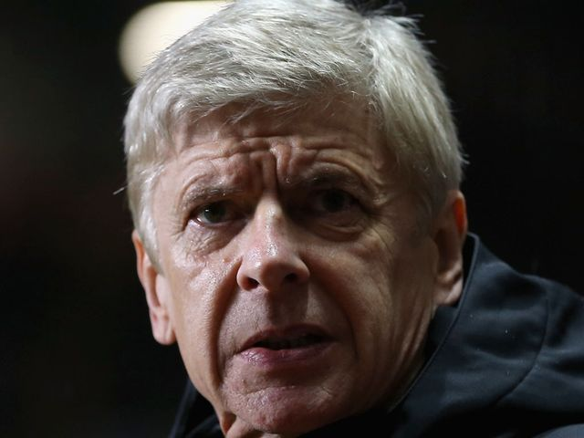 Arsene Wenger watched his side draw at Villa Park