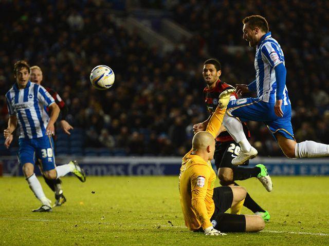 Dobbie scores Brighton's winner