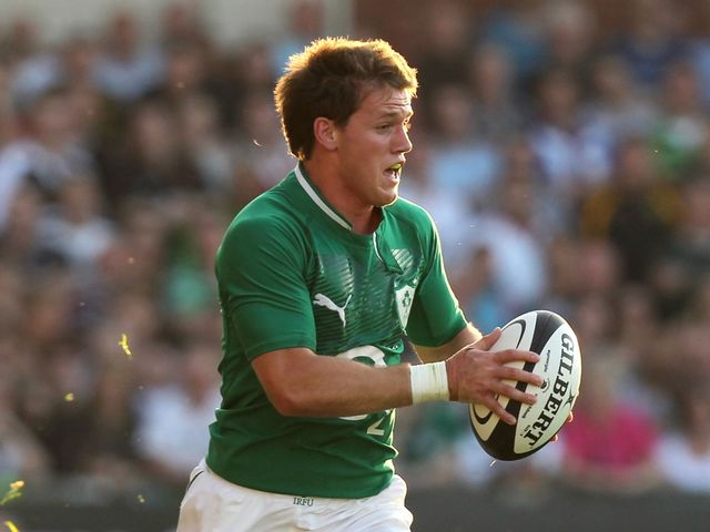 Craig Gilroy: Three tries for Ireland