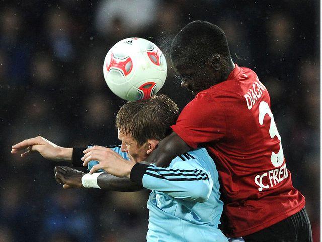 Hamburg battled to a point against Freiburg