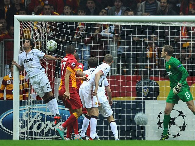 Yilmaz Burak's header gave Galatasaray the lead