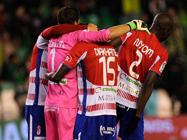 Granada celebrate a famous victory