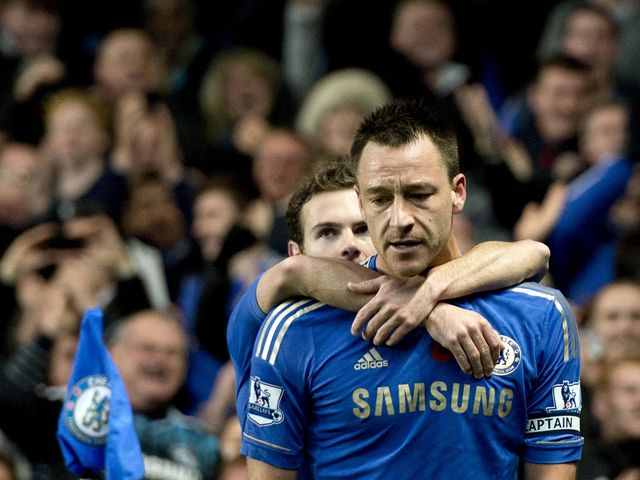 John Terry: On course to make a rapid return from his knee injury