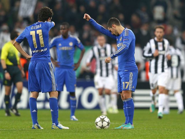 Chelsea were brushed aside 3-0 by Juventus