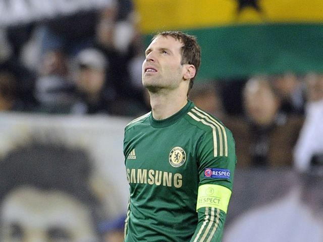 Petr Cech: Struggling with an adductor problem