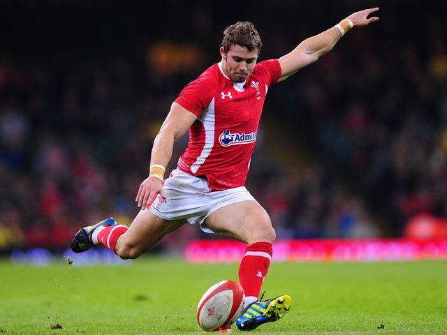 Leigh Halfpenny: Four penalties and a conversion