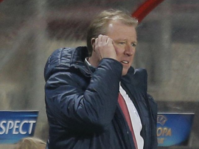 Steve McClaren watched his side draw 0-0