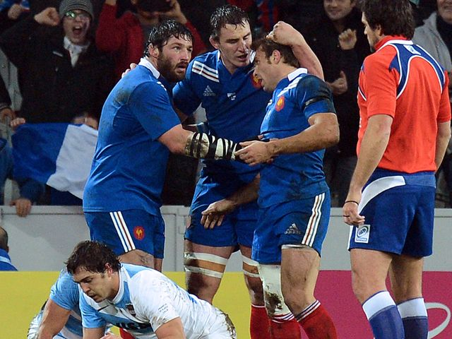 Vincent Clerc: Two tries for France