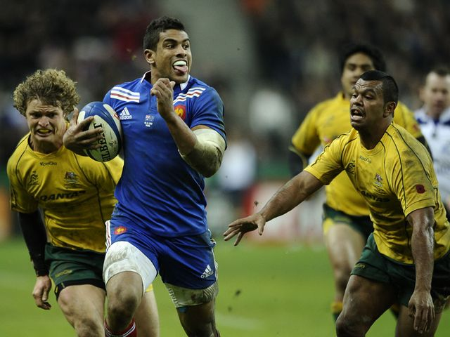 Wesley Fofana powers clear for France