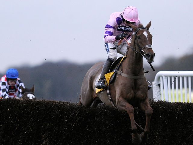 Silviniaco Conti: Jumped his rivals into submission