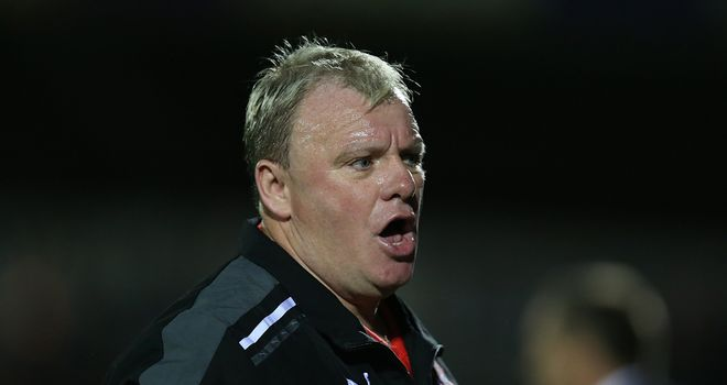 Steve Evans: Won't let it slide