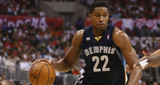 Rudy Gay: Top-scored with 28 points for Memphis