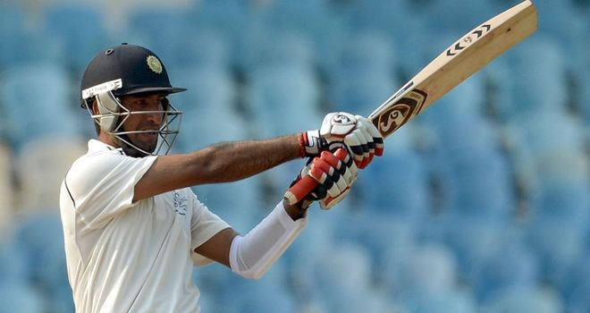 Pujara: star of the show on day one