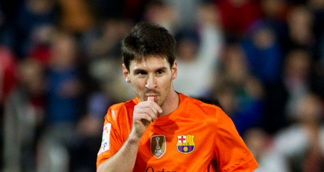 Lionel Messi: Helped Barcelona to victory over Real Mallorca on Sunday