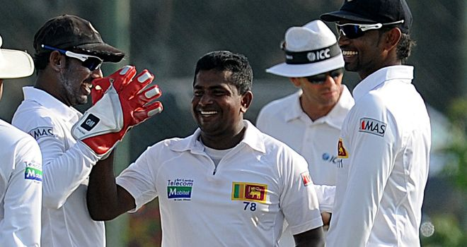 Rangana Herath: Earns captains' praise in Galle