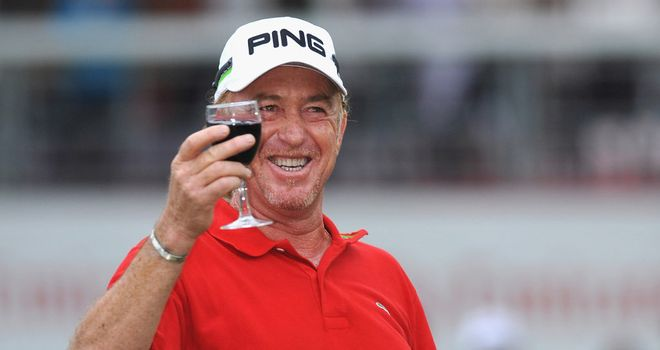 Miguel Angel Jimenez: Oldest winner on European Tour