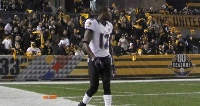 Jacoby Jones: Scored with a 63-yard punt return