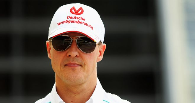 Michael Schumacher: Retired again in 2012