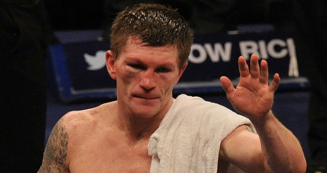 Ricky Hatton knows this really is the end, but is happy for it to be so