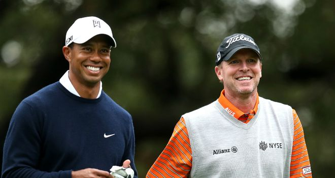 Tiger Woods and Steve Stricker: Share a round together